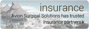 Insurance - Avion Surgical Solutions has trusted insurance partners